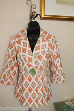 3 Sisters Jacket Clothing S Rio Blazer Dressy Fitted Coat Blazer 1424