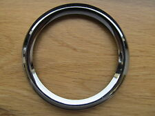 26668R BSA TRIUMPH SMITHS CHRONOMETRIC SPEEDO TACHO CHROME SCREW ON LIPPED BEZEL