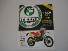 advertising Pubblicità 1986 PUCH FRIGERIO 250 RALLY