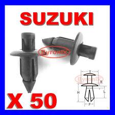 Suzuki panel del carenado Trim Clips Remaches Sujetadores De 6 Mm X 50