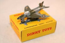 Dinky Toys 734 Supermarine Swift Fighter mint in box all original condition