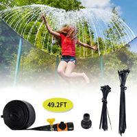 Outdoor Water Fun Sprinkler For Kids Summer Trampoline Waterpark for Kids 10 UK