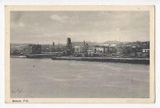Port de MATANE Bas St-Laurent Quebec Canada 1930-40s PECO Postcard
