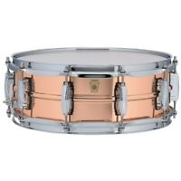 Ludwig USA LC660 Copper Phonic 5x14 Smooth Snare Drum with Imperial Lugs