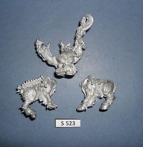 Warhammer 40K Metal LIMITED EDITION TSF18 TYRANID DOMINATOR KING ZOAT 1987 S 523