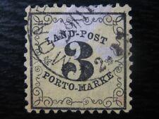 BADEN GERMAN STATES Mi. #2 scarce used stamp! CV $180.00