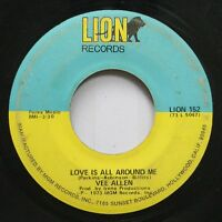 Hear! Northern Soul 45 Vee Allen - Love Is All Around Me / Trying To Forget On L