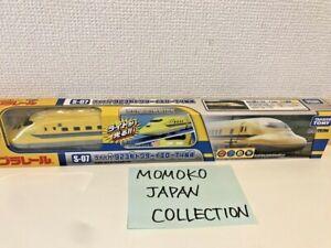 Takara Tomy Plarail Train S07 Type 923 Dr Yellow Shinkansen T4 ( with Light )