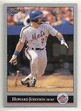 1992 Leaf Baseball - Preview - #7 - Howard Johnson - New York Mets