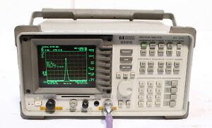 HP / Agilent 8591E 9 kHz - 1.8 GHz Spectrum Analyzer with Tracking Generator