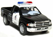 "Kinsmart Dodge Ram 1500 POLICE diecast pickup truck 1:44 scale 5""Long"