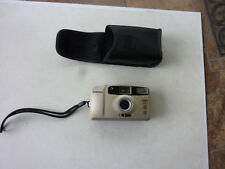 Vintage 30mm Film Camera Samsung FINO 20s w/ Samsung  Case - AS IS - UNTESTED