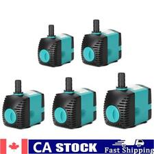 220 240V Submersible Fountain Pump Filter Manure Fish Tank Side Water Pump