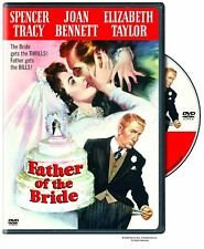 FATHER OF THE BRIDE. Spencer Tracy (1950). UK compatible. New sealed DVD.