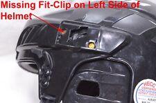 Has Issue Ccm Fitlite 40 Adjustable Ice Hockey Helmet & Mask Combo Black Large L