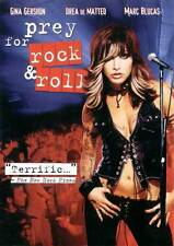 PREY FOR ROCK & ROLL Movie POSTER 27x40 B Gina Gershon Drea De Matteo Lori Petty
