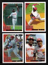 2010 Topps Cincinnati REDS Team Set Both Series 1 & 2 (19 cards)