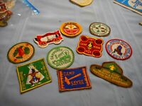 OLD of 10 1950's LOT #2 Boy Scout Patches Western District NOS