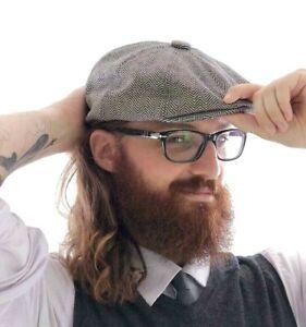 Coppola Uomo Siciliana Cappello Cotone da Gatsby Basco Berretto Cappellino Donna