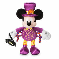 """NWT Disney Store Mickey Mouse Halloween Spider Plush Toy Doll 16"""" H"""