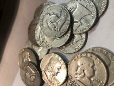 Franklin Silver Half Dollar-Roll of 20
