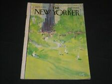 1971 APRIL 24 THE NEW YORKER MAGAZINE - NICE ILLUSTRATED FRONT COVER - L 1655