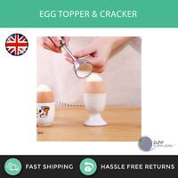 Egg Cracker and Topper ICO Impeccable Culinary Objects Catering Kitchen Gadget