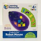 Stem Programmable Robot Mouse Activity Set Code and Go Learning Coding Toy New