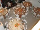 5%29+Gold+Pintuck+120%22+Round+Tablecloths+Wedding+50th+Anniversary+Graduation+Party