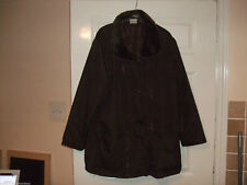 Unbranded Faux Fur Plus Size Coats, Jackets & Waistcoats for Women
