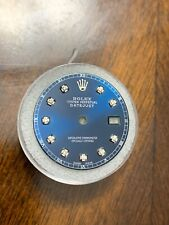 Rolex Datejust Aftermarket Blue Roman Diamond Dial 28mm 16014