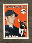 2000 Fleer Tradition Update Ryan Vogelsong Rookie Card #U140 SF Giants (A). rookie card picture