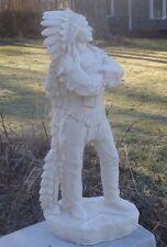 """Concrete / Cement Mold 30""""  American Indian Chief  Latex Rubber / Fiberglass"""