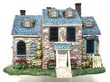 "Thomas Kinkade ""Kinkades"" Cottage Sculpture No. 2314A Lighted Village Lamplight"