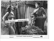 HEDY LAMARR SAMSON & DELILAH VIC MATURE ORIGINAL VINTAGE glossy b&w movie photo