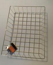 "Gold Wire Letter/Paper Basket, Desk Organizer Tray 12.5"" X 9"" X 2"""