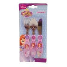 Disney Princess The First Cutlery Set - Knife Fork & Spoon