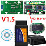 ELM327 V1.5 PIC18F2480 Chip Bluetooth OBD2 II Scanner Diagnosis Tool For Android