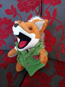 Basil Brush Soft Toy hand Puppet with working boom boom.