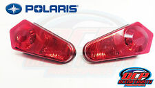 "09-12 POLARIS RZR 800 ""S"" OEM RIGHT & LEFT TAILLIGHT ASSEMBLY W/BULB & SOCKET"