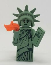 authentic LEGO minifigure Lady Liberty CMF series 6 col06-4 col084 statue