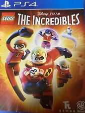 Lego The Incredibles for Ps4 - Pixar and Disney
