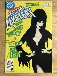 Elvira's House of Mystery #9 - VF/NM (11/1986, DC)