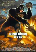 King KONG LIVES Poster 01 A4 10x8 photo print