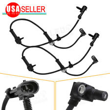2x New Front  Right +Left ABS Wheel Speed Sensor For Chevy Replaces 1918187