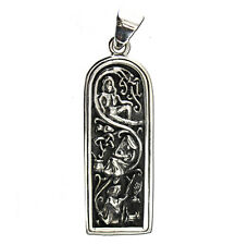Sterling Silver Maid / Maiden Mother & Crone Pendant Wiccan Goddess Dryad Design