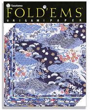 Origami Paper 4336 Yuzen Blue 10 Shts