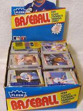 1989 Fleer Baseball Rack Pack 42 Cards MLB
