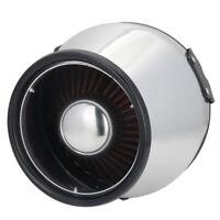 6'' Heat Shield Cold Air Short Ram Intake Cotton Cone Filter Universal Aluminum