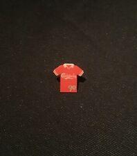 Carlsberg Red Football Shirt ? Liverpool Or Man Utd Vintage Pin Badge
